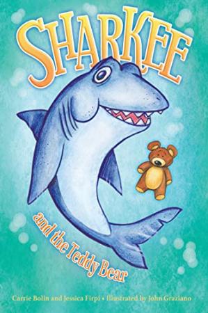 Sharkee and the teddy bear
